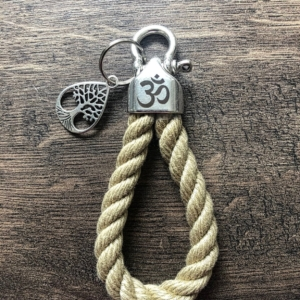 Maritime Keychains aus Segeltau